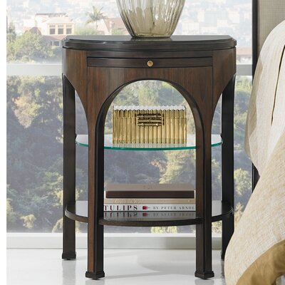 Crestaire Alexander Multi-Tiered Telephone Table Finish: Porter 436-13-81