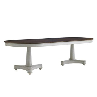 Charleston Regency Oyster Point Double Pedestal Dining Table