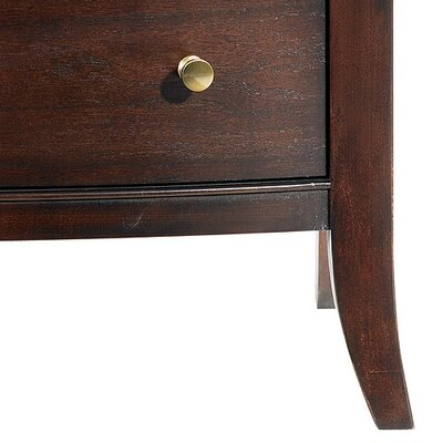 Easy financing Hudson Street 2 Drawers Nightstand ...