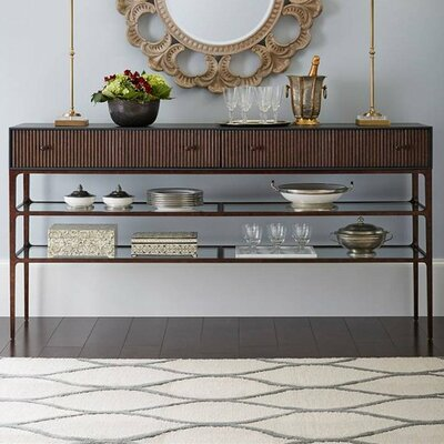 Serena Buffet Finish: Bluestone
