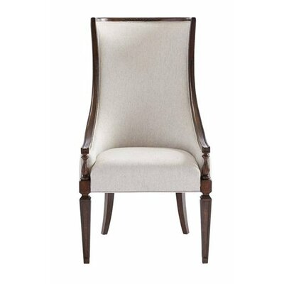 Matteo Host Armchair Upholstery: Mottled Walnut