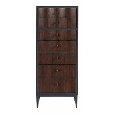 Serena 7 Drawer Lingerie Chest Color: Bluestone
