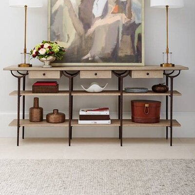 Asti Console Table Finish: Glaze