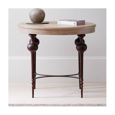 Adriana End Table Table Top Color: Glaze