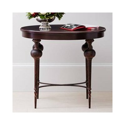 Adriana End Table Table Top Color: Pomegranate