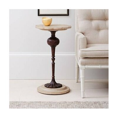 Fiore Martini End Table Finish: Glaze