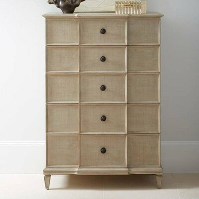 Lucio 5 Drawer Chest Color: Glaze