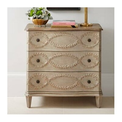 Nicolo 3 Drawer Dresser Color: Glaze