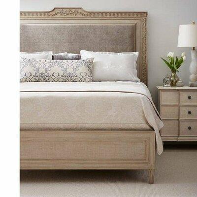 Alessandra Upholstered Platform Bed Size: California King