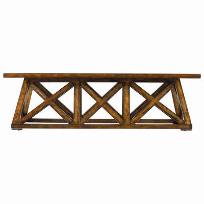 Cheap Stanley Modern Craftsman Manhattan Low Bridge Table in Tobacco (STA4529)
