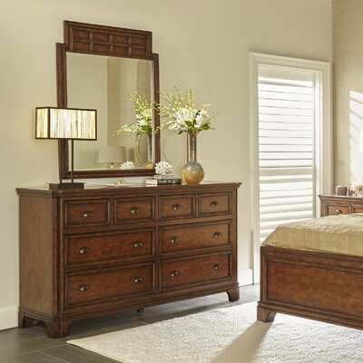 Tilden 8 Drawer Dresser with Mirror