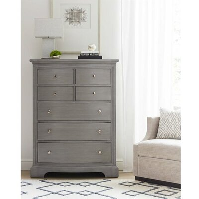 Transitional 7 Drawer Chest