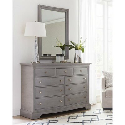 Transitional 9 Drawer Dresser
