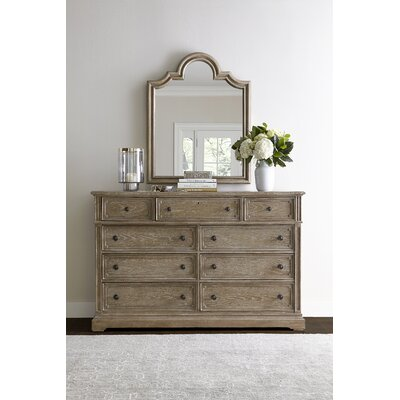 Wethersfield Estate 9 Drawer Dresser with Mirror