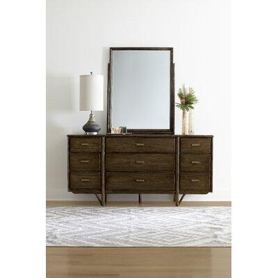 Santa Clara 9 Drawer Dresser with Mirror
