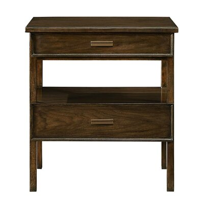 Santa Clara 2 Drawer Nightstand