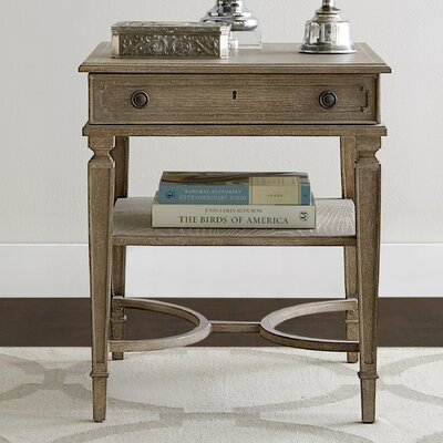 Wethersfield Estate End Table with Storage