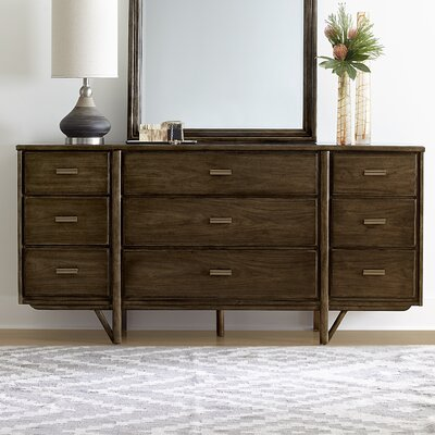 Santa Clara 9 Drawer Standard Dresser