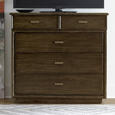 Santa Clara 5 Drawer Media Chest
