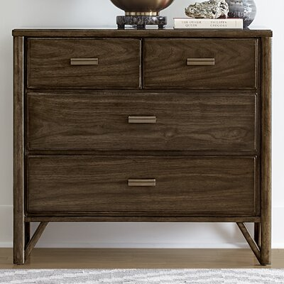 Santa Clara 4 Drawer Nightstand