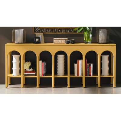 Crestaire Brooks Console Table Finish: Saffron