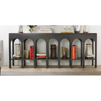 Crestaire Brooks Console Table Finish: Flint