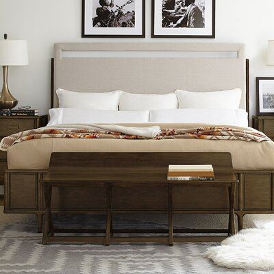 Santa Clara Upholstered Panel Bed Size: California King