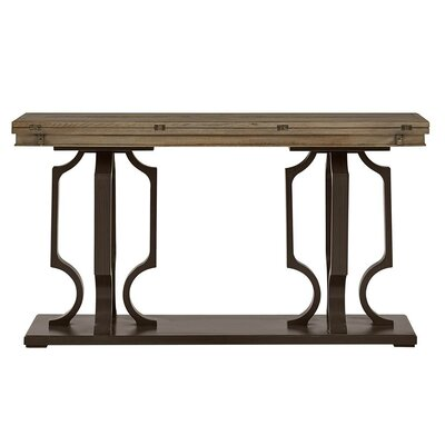 Virage Console Table Top Finish: Basalt