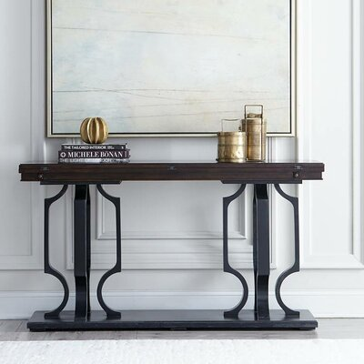 Virage Console Table Top Finish: Truffle