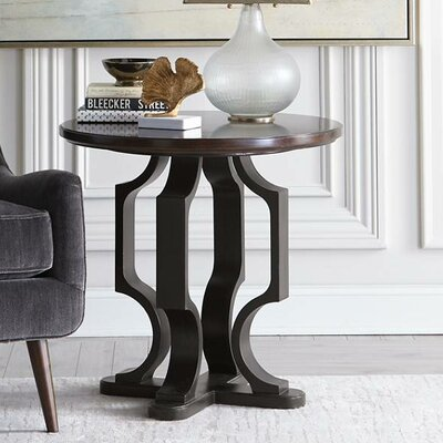 Virage End Table Finish: Truffle