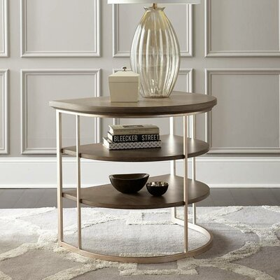 Virage End Table Finish: Basalt