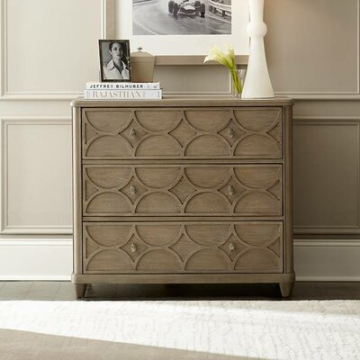 Virage 3 Drawer Bachelors Chest Finish: Beige