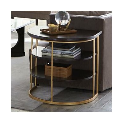 Virage End Table Color: Truffle