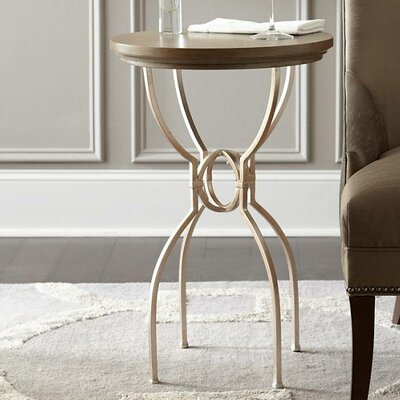 Virage End Table Top Color: Basalt