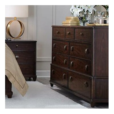 Virage 9 Drawer Dresser Color: Truffle