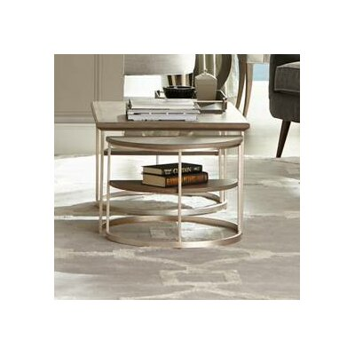 Virage 3 Piece Coffee Table Set Color: Basalt