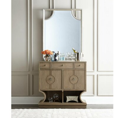 Virage 2 Drawer Combo Dresser with Mirror