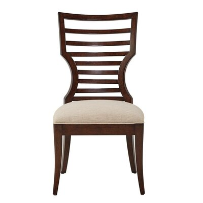 Virage Solid Wood Dining Chair Finish: Truffle