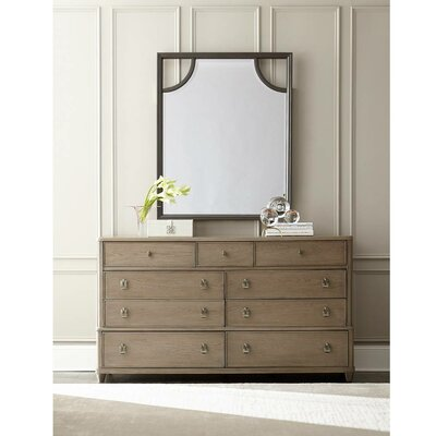 Virage 9 Drawer Dresser with Mirror