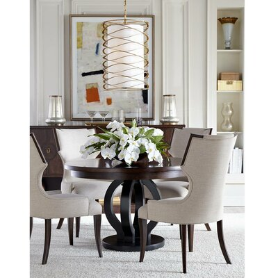 Virage Extendable Dining Table Top Finish: Truffle
