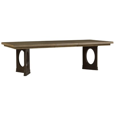 Virage Dining Table Top Finish: Basalt