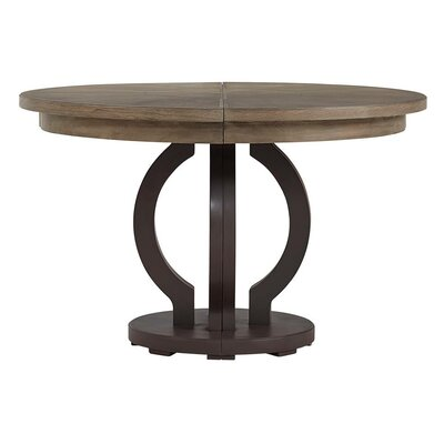 Virage Extendable Dining Table Top Finish: Basalt