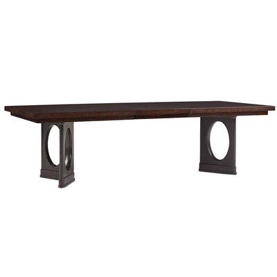 Virage Dining Table Top Finish: Truffle