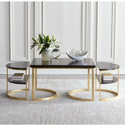Virage Coffee Table Finish: Truffle