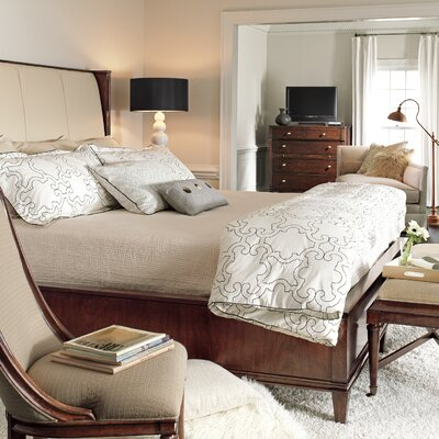 Avalon Heights Upholstered Panel Bed Size: California King