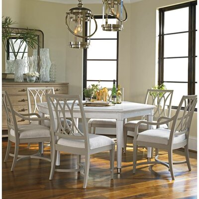 Coastal Living Resort Soledad Promenade Dining Table Finish: Sail Cloth