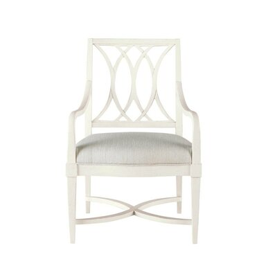Blackburn Arm Chair Arm Chair Finish: White