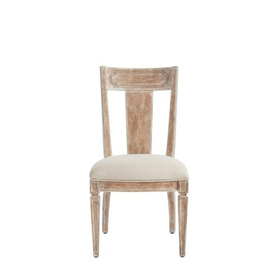 Juniper Dell Contemporary Side Chair Finish: English Clay