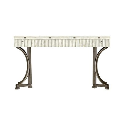 Resort Curl Tide Flip Top Console Table