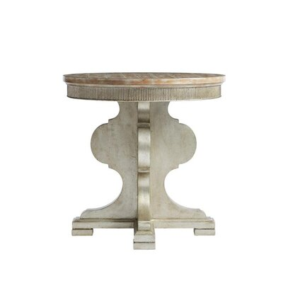 Juniper Dell End Table Color: Tarnished Silver Leaf